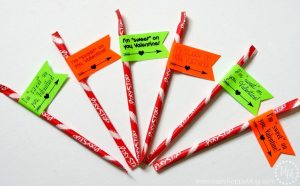 Pixie Stix are the sweetest of Valentine's Day candy! Just add these fun stickers, and they are ready to be passed out at school.