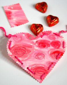 Stuffed Watercolor Valentines