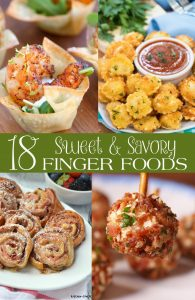 Sweet & Savory Finger Foods
