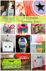 Get creative with class Valentine boxes!