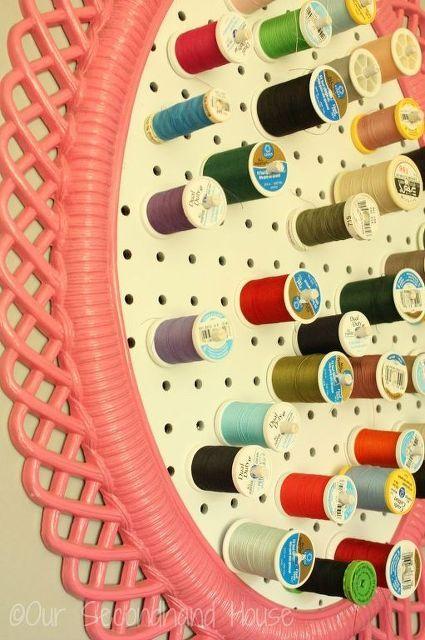 framed sewing thread