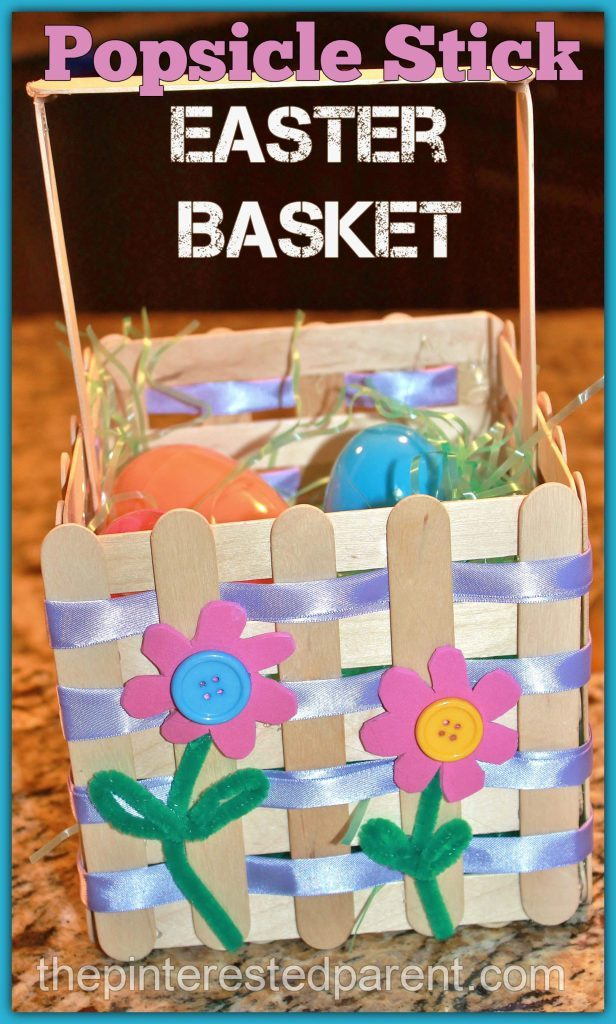 Create a unique and inexpensive custom Easter basket for your little ones!