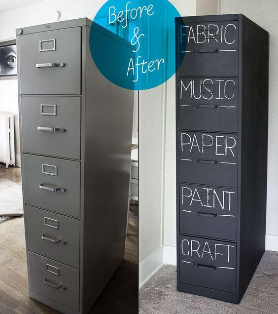 crafty file cabinet