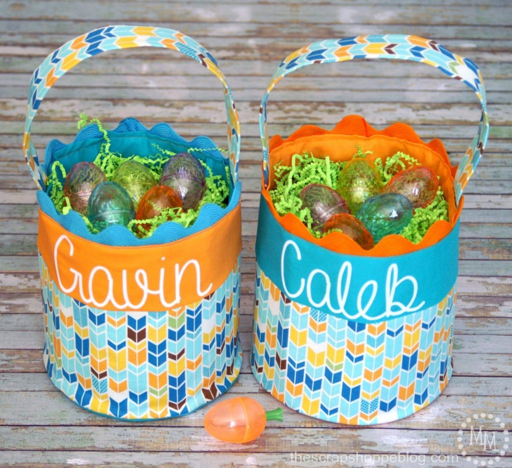 Creative diy easter basket ideas the scrap shoppe create a unique and inexpensive custom easter basket for your little ones negle Images