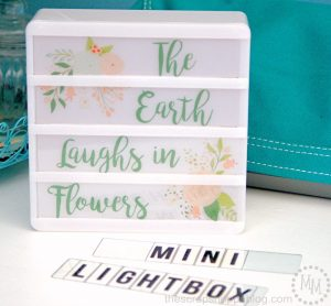 Have a Mini Light Box? See how to create your own designs and download four free patterns!