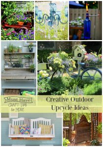 Creative Upcycled Outdoor Ideas