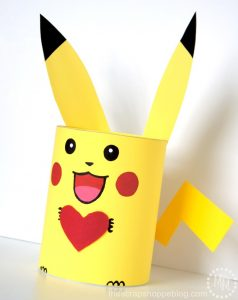 Pokémon Pikachu Valentine Box
