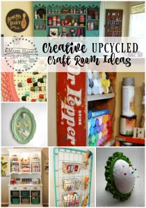 Creative upcycled ideas for your craft room!