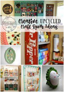 Creative Upcycled Craft Room Ideas
