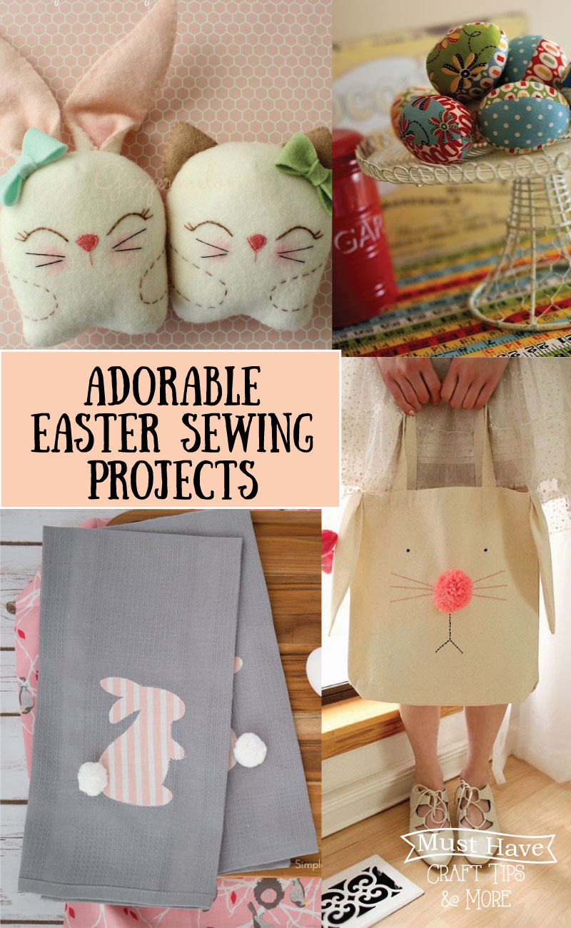 Adorable easter sewing projects the scrap shoppe sew up a storm this easter with these adorable easter sewing projects negle Images