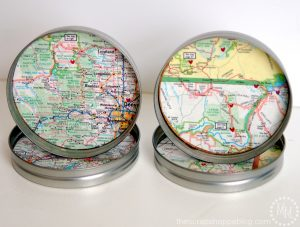 Special Map Coasters
