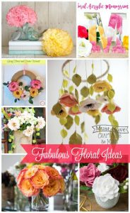 Create spring florals for all over your home with these fabulous floral ideas!