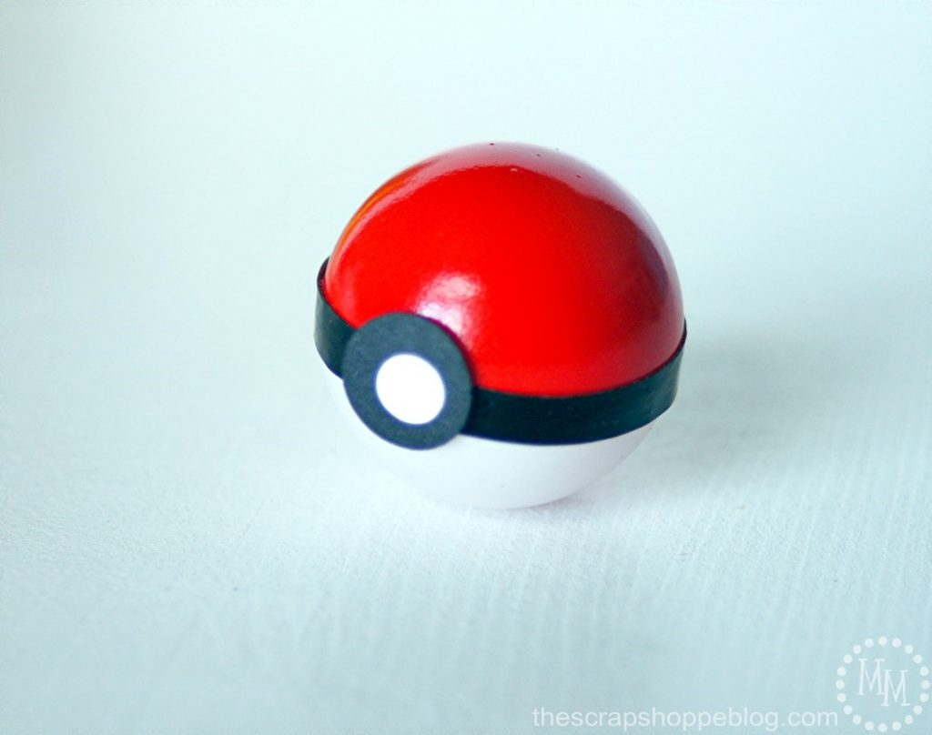 Make your own Pokéballs from ping pong balls!