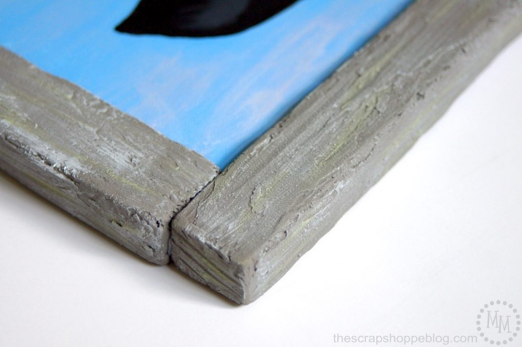 Get the look of barnwood with foam!