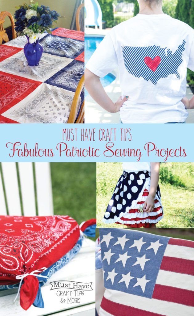Get your sew on to make some fabulous patriotic projects!