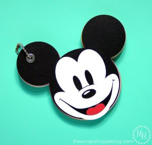 Mickey Mouse Autograph Book – FREE Cut File