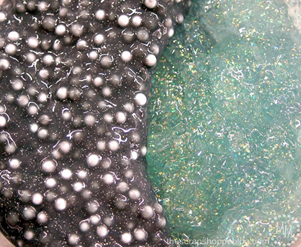 Make your slime out of this world by creating textured galaxy slime!