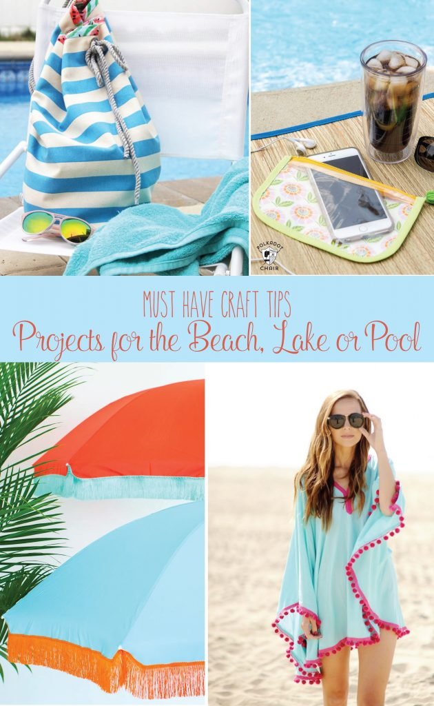 Save some money this summer and DIY these fun projects that are perfect for the beach, lake, and/or pool!