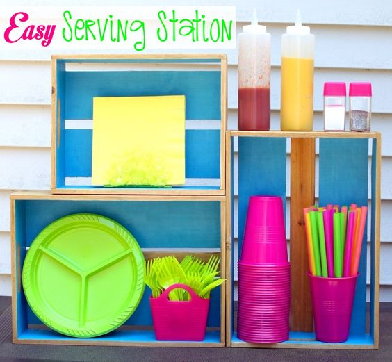 easy serving station