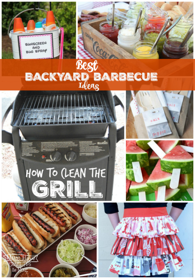 Host the ultimate backyard BBQ this summer with these great outdoor ideas!