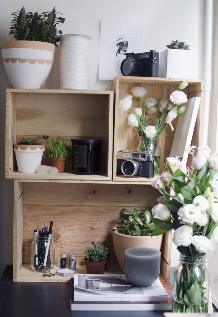 Keep your desk area more organized with these creative tips and tricks!