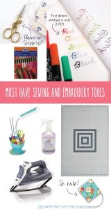 If you love sewing or want to learn to sew then you will want to check out these must have sewing supplies!