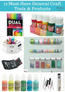 Must Have Craft Tools and Products