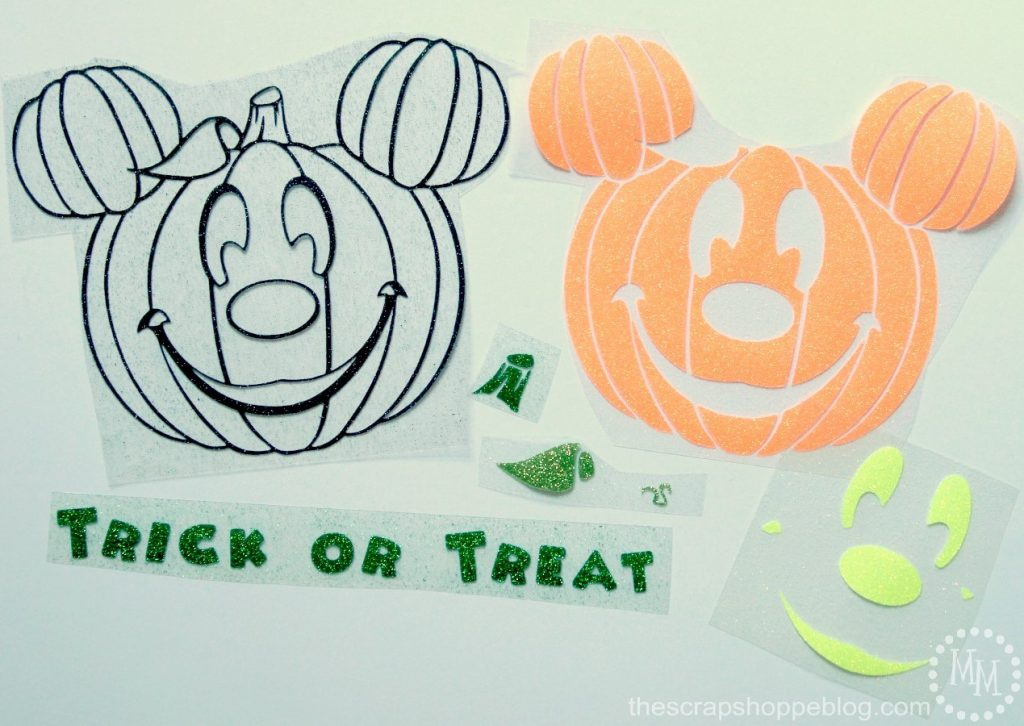 Celebrate Halloween in Disney style and make a fun Mickey pumpkin trick or treat bag with this FREE cut file!