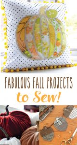 Fabulous Fall Sewing Projects