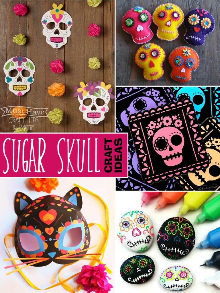 15 fun and creative sugar skull craft ideas