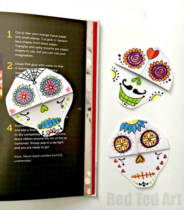 15 fun and creative sugar skull craft ideas