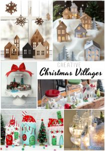 Creative Christmas Village Ideas