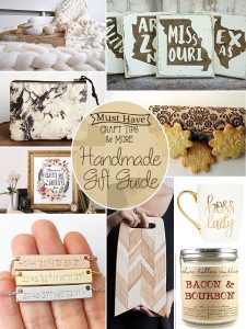 Handmade gift guide for holiday shopping