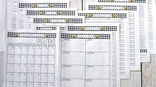 Holiday Planner FREE Printables