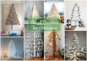 Fun Christmas tree alternatives