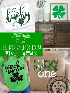 St. Patrick's Day Vinyl Ideas
