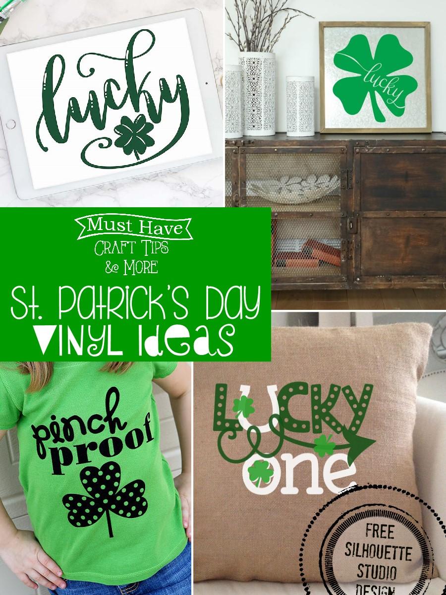 Mhct M St Patrick S Day Vinyl Idea A Glimpse Inside