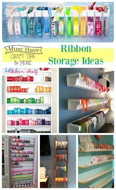 Keep your ribbon organized!