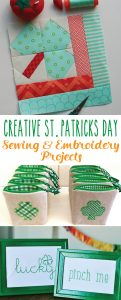 Creative St. Patrick's Day Sewing and Embroidery Projects