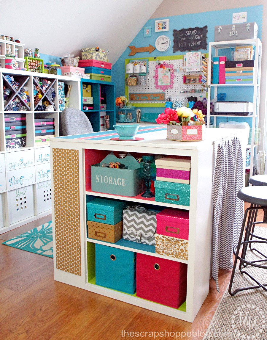 small craft space ideas craft room tour update the scrap shoppe 5440