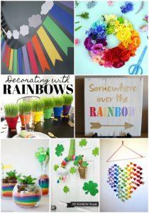 Decorating with Rainbows