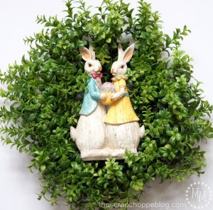Boxwood Easter Wreath