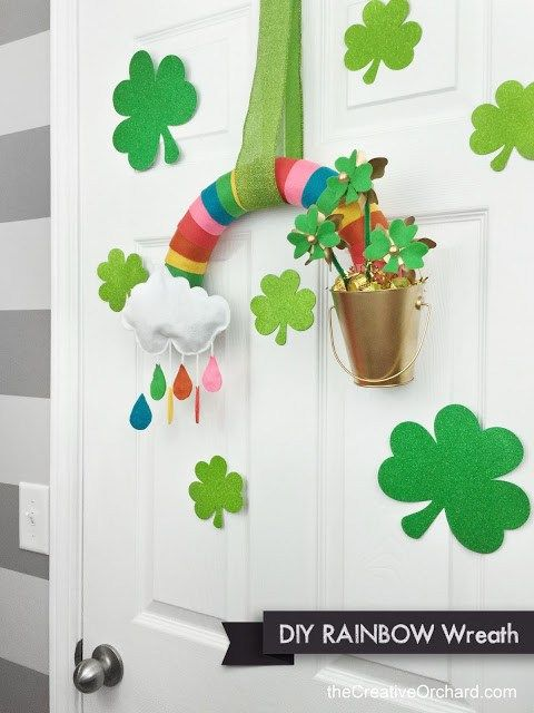 Get ready to decorate for St. Patrick's Day with some fun rainbow home decor projects!