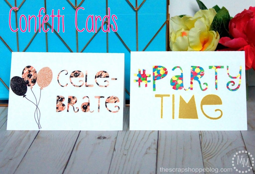 These DIY confetti cards add a personal touch to anything celebration!
