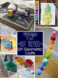 Hot Trends: DIY Geometric Crafts