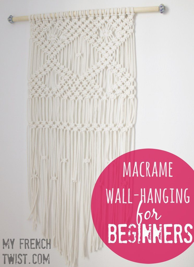 Create your own wall art with yarn!