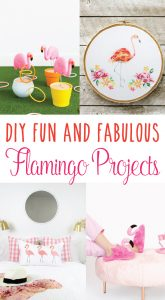 DIY Fun & Fabulous Flamingo Projects