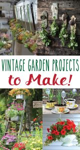 Vintage Garden Projects