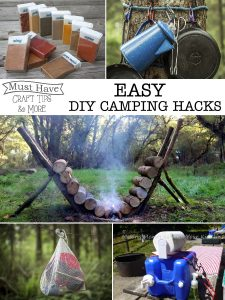 These DIY camping hacks will make a huge difference on your next campout!