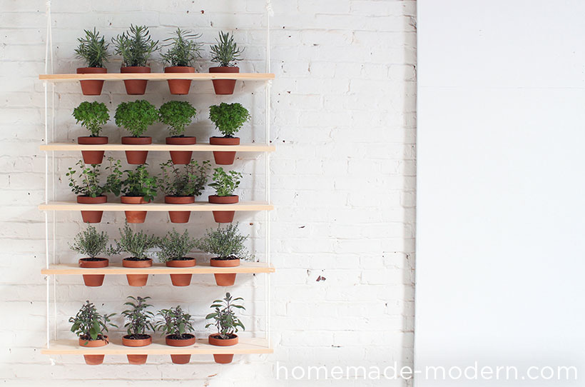 Fresh herbs are the BEST for cooking! Grow your own with these adorable planter ideas!